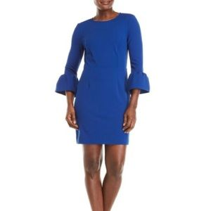 Charles Henry Bell Sleeve A-Line Dress